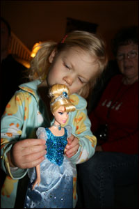 Greta with Cinderella