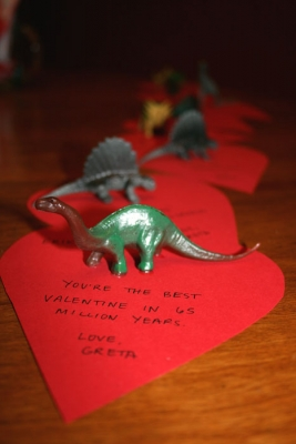 You're the best Valentine in 65 million years