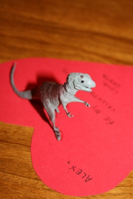 Be my valentinosaurus