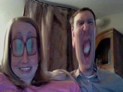 Pat and Fran Photo booth
